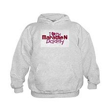 I Love My Marathon Daddy Hoodie