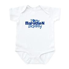 I Love My Marathon Daddy Onesie