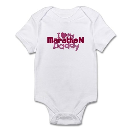 I Love My Marathon Daddy Infant Bodysuit