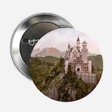 """Neuschwanstein Castle 2.25"""" Button"""