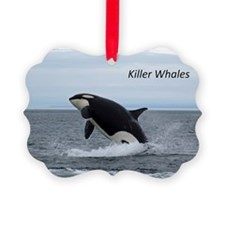 Killer Whales Ornament