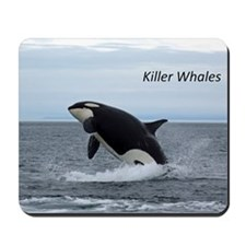 Killer Whales Mousepad