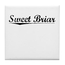 Sweet Briar, Vintage Tile Coaster