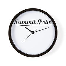 Summit Point, Vintage Wall Clock