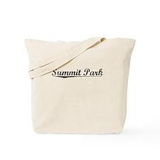 Summit Park, Vintage Tote Bag