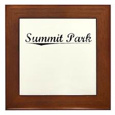 Summit Park, Vintage Framed Tile