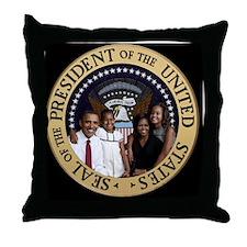 First Family Throw Pillow