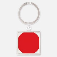 Flag of Japan Square Keychain