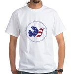 Peace Dove White T-Shirt