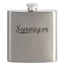 Surveyor, Vintage Flask