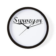 Surveyor, Vintage Wall Clock