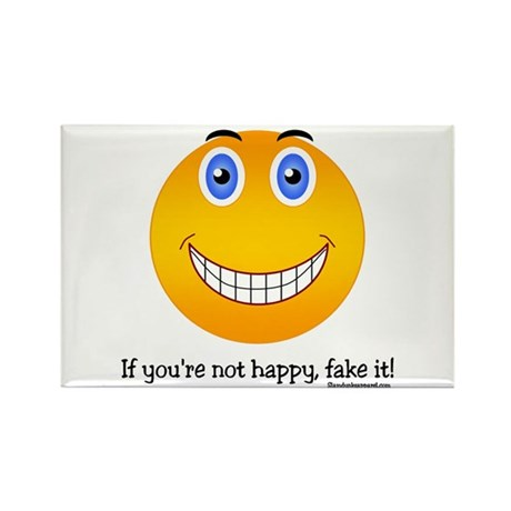 If you're not happy... Rectangle Magnet (10 pack)