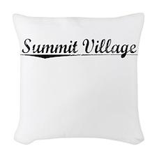 Summit Village, Vintage Woven Throw Pillow