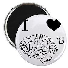 I <3 Brains Magnet