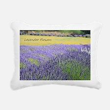 Lavender Rectangular Canvas Pillow