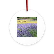 Lavender Round Ornament
