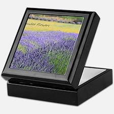 Lavender Keepsake Box