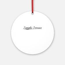 Temple Terrace, Vintage Round Ornament
