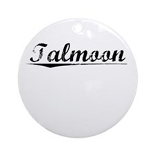 Talmoon, Vintage Round Ornament