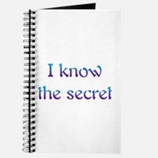 I Know The Secret Journal