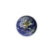 Earth Mini Button