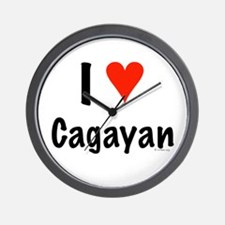 I Love Cagayan Wall Clock