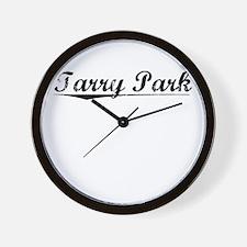 Tarry Park, Vintage Wall Clock