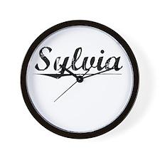 Sylvia, Vintage Wall Clock