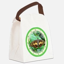 Butterfly Beauty Canvas Lunch Bag