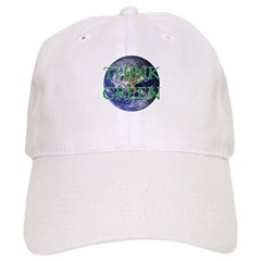 Think Green Double Sided Baseball Cap