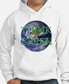 Think Green Double Sided Hoodie