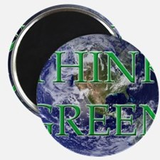 Think Green Double Sided Magnet