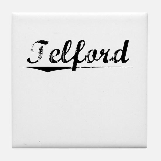 Telford, Vintage Tile Coaster