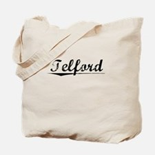 Telford, Vintage Tote Bag