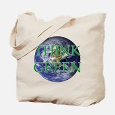 Think Green Double Sided Tote Bag