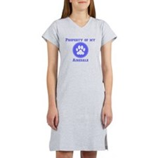 Property Of My Airedale Women's Nightshirt