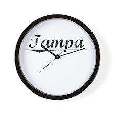 Tampa, Vintage Wall Clock