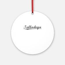 Talladega, Vintage Round Ornament