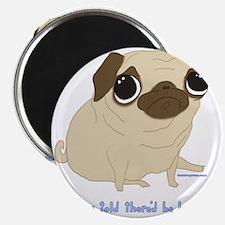 Bacon Pug Magnet
