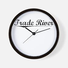 Trade River, Vintage Wall Clock
