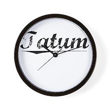 Tatum, Vintage Wall Clock