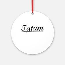 Tatum, Vintage Round Ornament