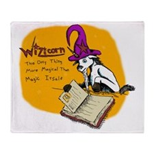 Wizicorn Throw Blanket