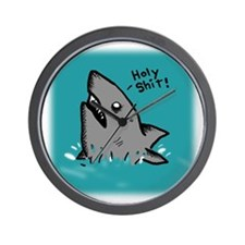 Holy Shark Wall Clock