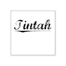 "Tintah, Vintage Square Sticker 3"" x 3"""