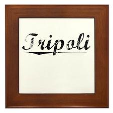 Tripoli, Vintage Framed Tile