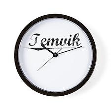 Temvik, Vintage Wall Clock