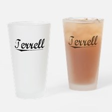 Terrell, Vintage Drinking Glass