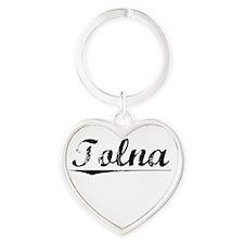Tolna, Vintage Heart Keychain
