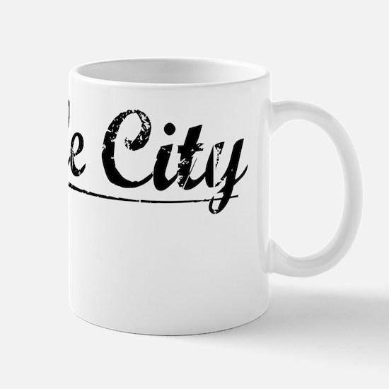 Temple City, Vintage Mug
